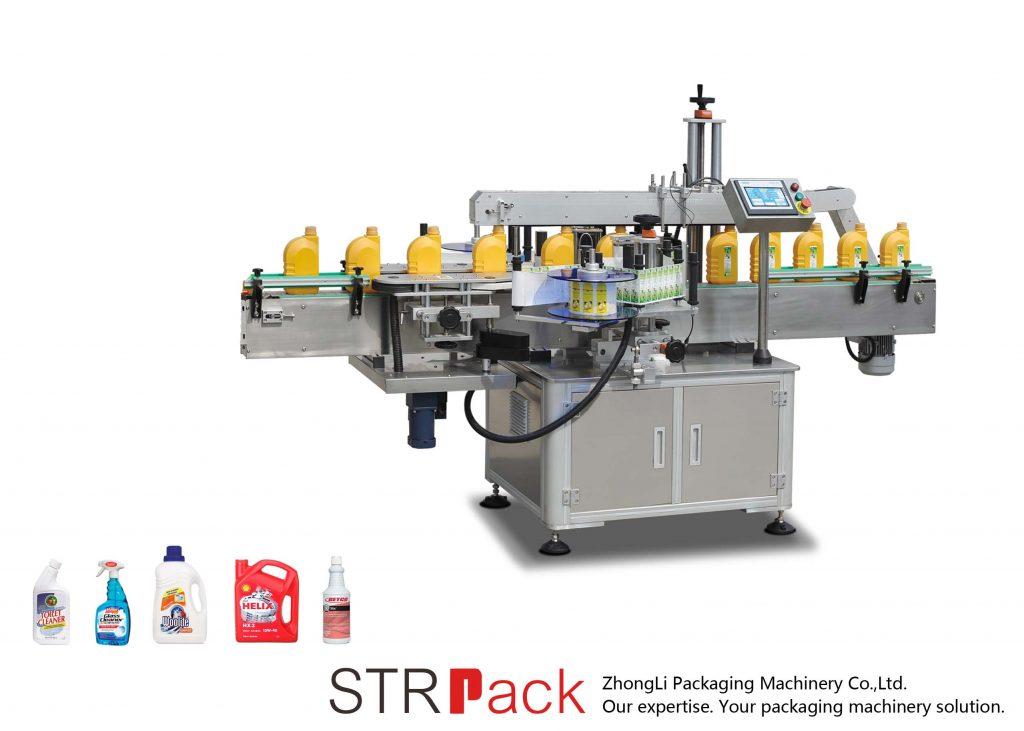 Automātiska vienpusēja / abpusēja pašlīmējoša marķēšanas mašīna