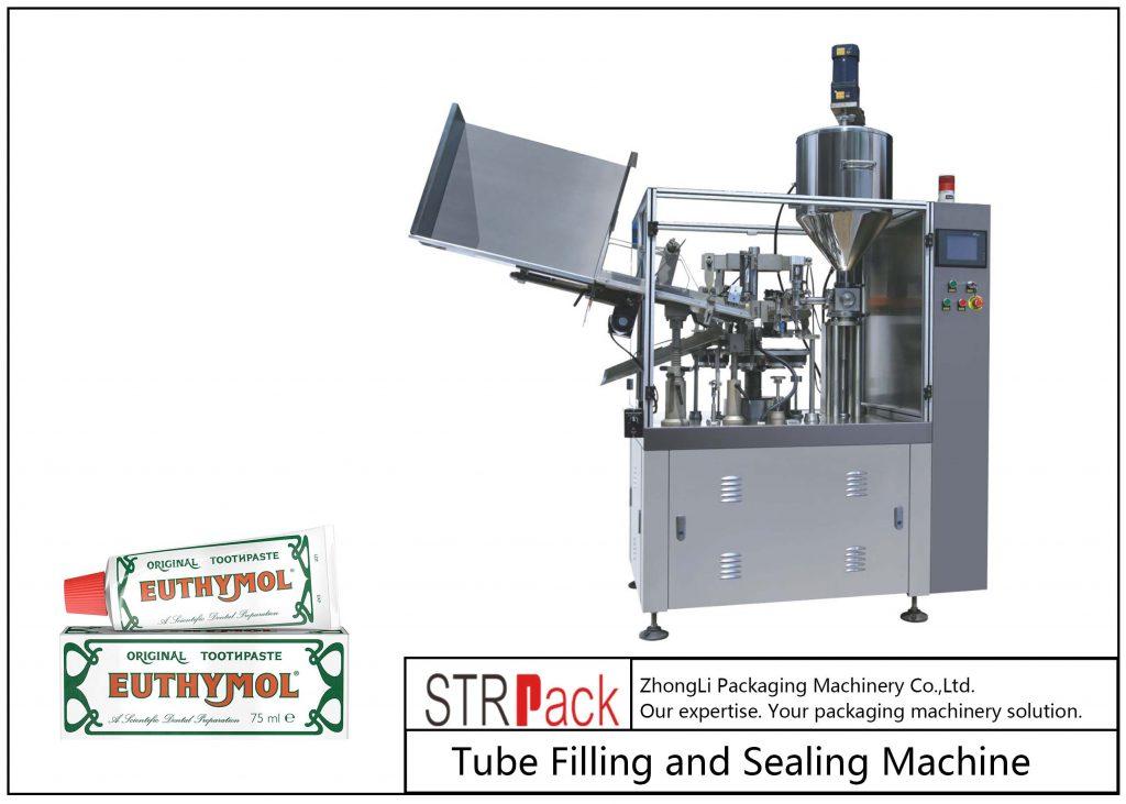 SFS-60Z metāla cauruļu pildīšanas un blīvēšanas mašīna