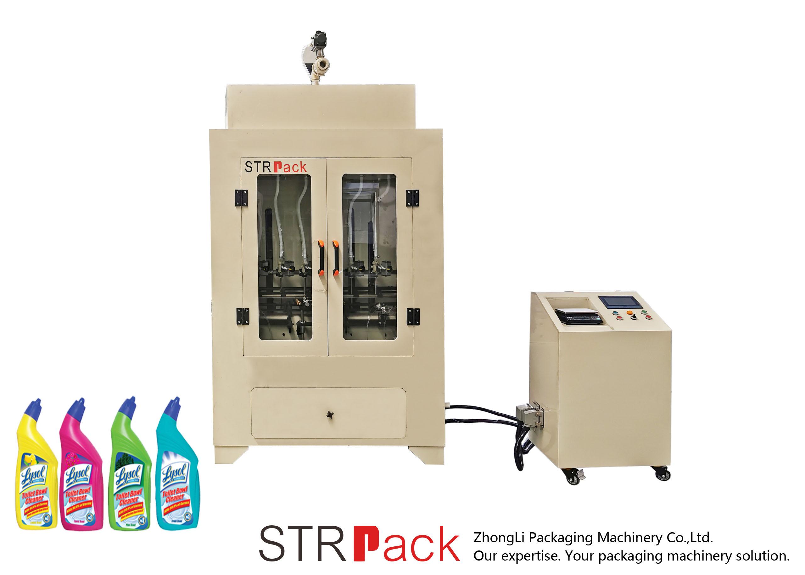 Tualetes tīrīšanas līdzekļa šķidruma iepildīšanas mašīna